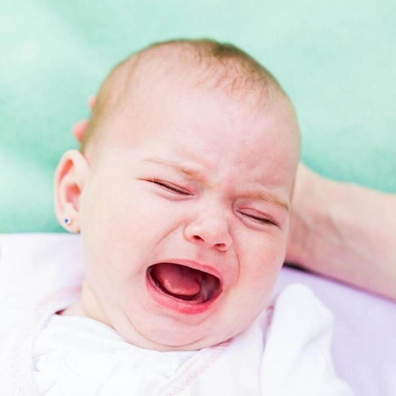 Dziecko przy ząbkowaniu